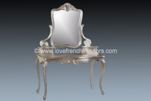 Louis Dressing Table and Mirror